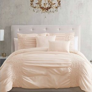 Twin twin XL 5-Pc Comforter Set Amalina Bl…